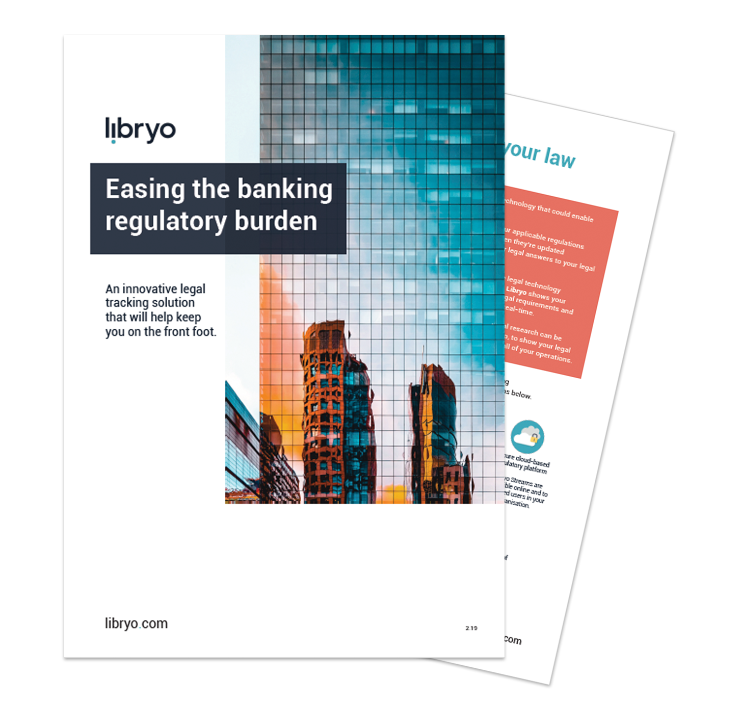 Preview of Banking brochure for Libryo