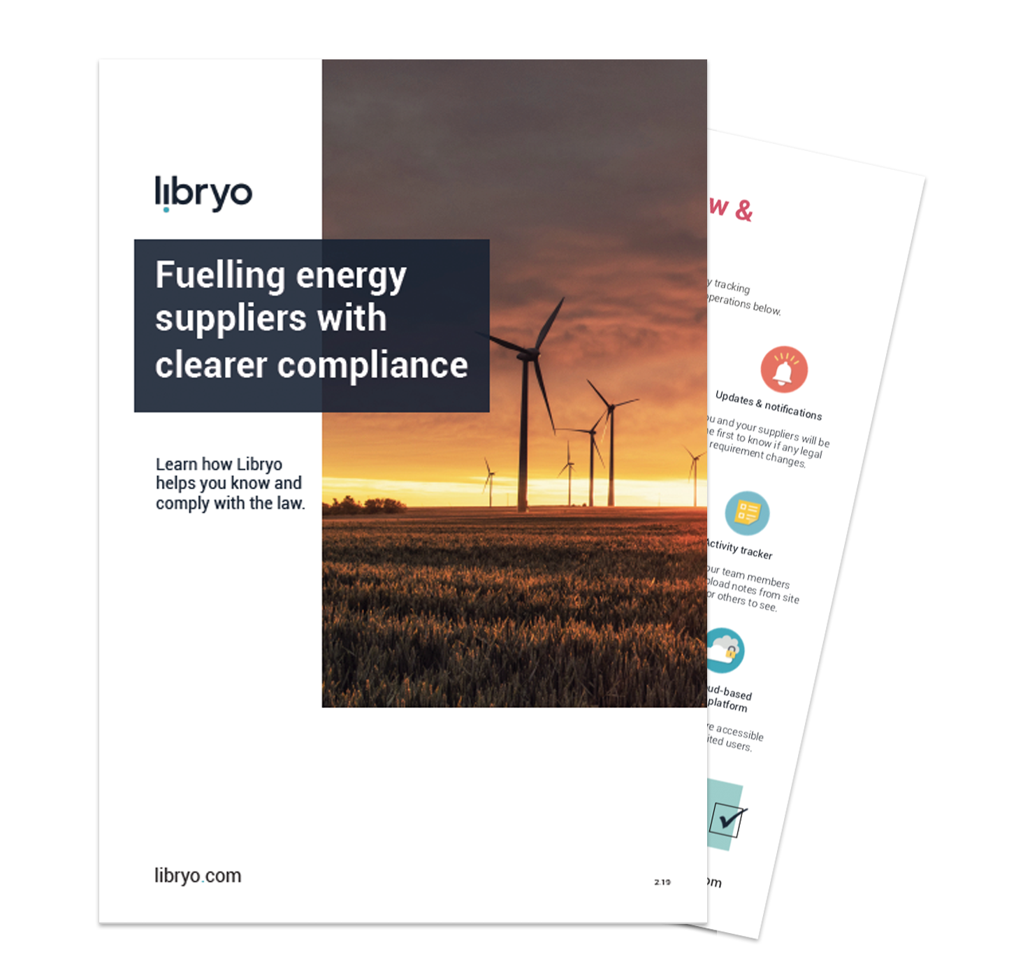 Preview of Energy Supplier brochure for Libryo