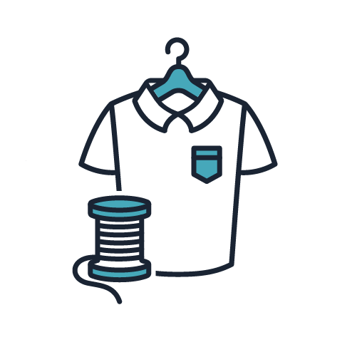 Apparel Supply Chains Icon