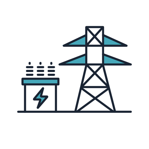 Energy Suppliers Icon